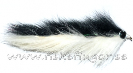 Double Bunny Streamer Black/White
