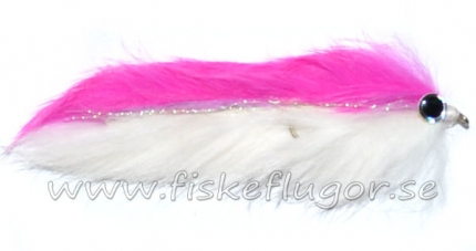 Double Bunny Streamer Pink/White