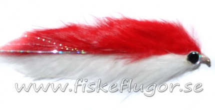 Double Bunny Streamer Red/White