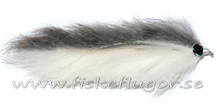 Double Bunny Streamer Natural/White