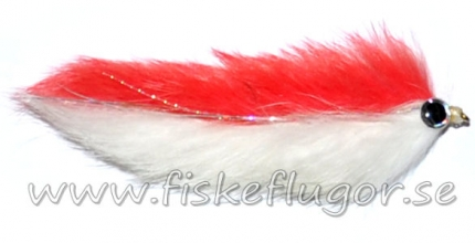 Double Bunny Streamer Orange/White