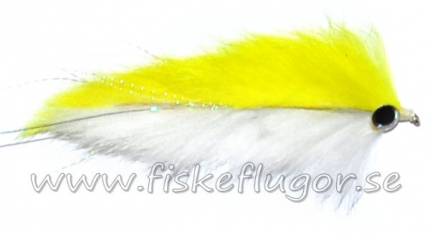 Double Bunny Streamer Yellow/White
