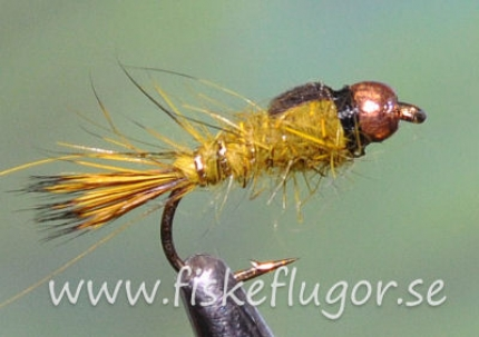 Tungsten Copperhead GRHE Nymph Olive