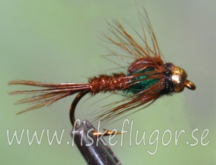 Tungsten Goldhead Pheasent Tail SS Green