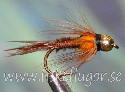 Tungsten Goldhead Pheasent Tail SS Orange