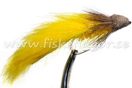 Muddler Zonker Yellow