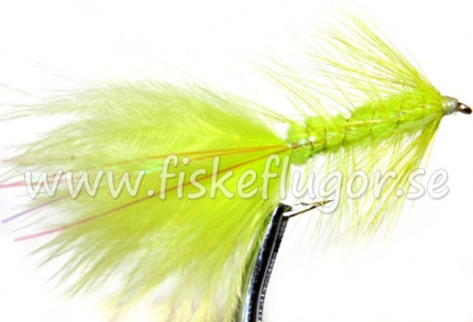 Flash Woolly Bugger Chartreuse
