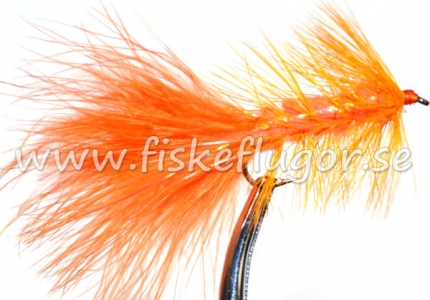 Flash Woolly Bugger Orange