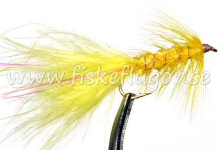 Flash Woolly Bugger Yellow