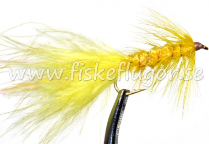 Woolly Bugger Yellow