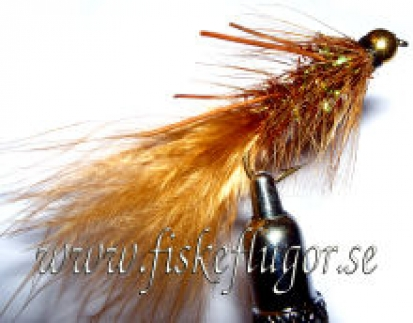 BH Fritz Woolly Bugger Rubberlegs Brown