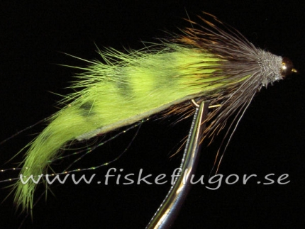 12-Pack BH Muzonk Streamer Yellow