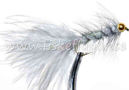 BH Woolly Bugger Grey