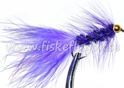 BH Woolly Bugger Purple