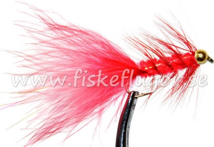 BH Woolly Bugger Red