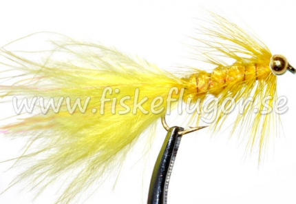 BH Woolly Bugger Yellow