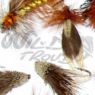 Caddis/Nattslända Dry Collection