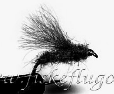 CDC Caddis Black