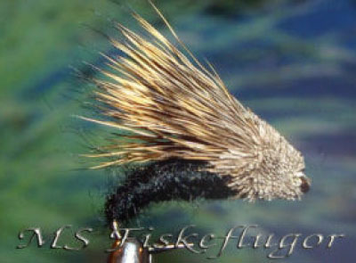 Streaking Caddis Black