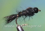 Tungsten Blackhead GRHE Nymph Black