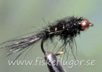 Tungsten Copperhead GRHE Nymph Black