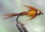 Tungsten Goldhead Pheasent Tail SS Yellow