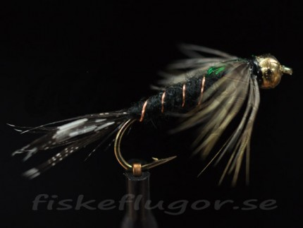 Tungsten Goldhead Black Martinez Nymph