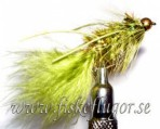 BH Fritz Woolly Bugger Rubberlegs Olive
