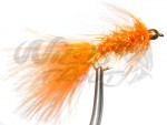 12-Pack BH Fritz Woolly Bugger Orange