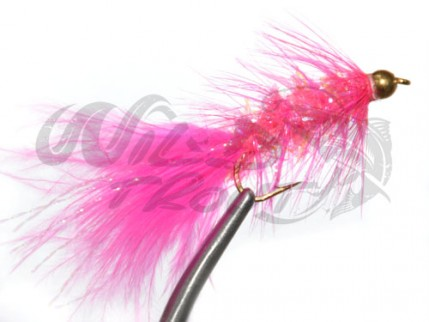 BH Fritz Woolly Bugger Pink