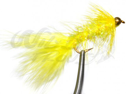 BH Fritz Woolly Bugger Yellow