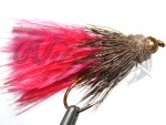 BH Marabou Muddler Red