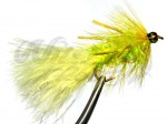 BH Fritz Woolly Bugger Rubberlegs Yellow