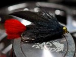 BH Muddler Minnow Black Red Tag