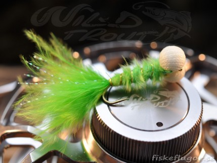 12-Pack Booby Nymph Chartreuse