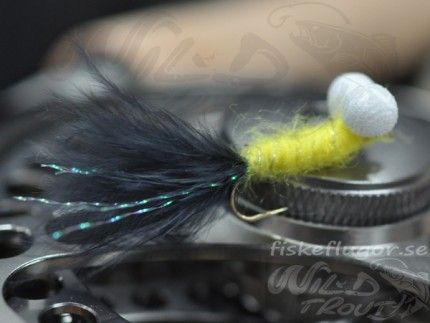 12-Pack Booby Nymph Yellow/Black