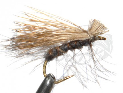 CDC Elk Hair Caddis Grey