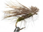 CDC Elk Hair Caddis Olive
