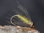 Tungsten Goldhead CDC Softhackle Nymph Yellow