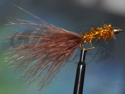 Conehead Delibugger Gold/Brown