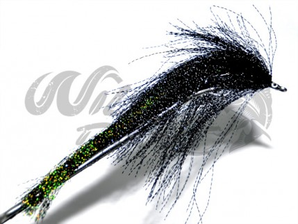 Crystal Pikefly Black/Green