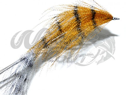 Crystal Pikefly Gold/Silver