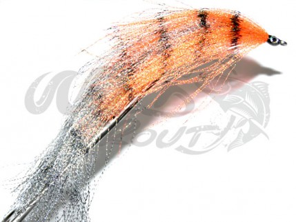 Crystal Pikefly Orange/Silver