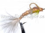 12-Pack Danica CDC Foam Back Emerger