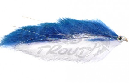 Double Bunny Streamer Blue/White