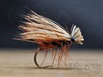 Elk Hair Caddis Svart