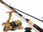 Fiskeset Rod & Reel Gold Royal 10-30G