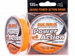 Flätlina Power Action X-4 Orange 135m