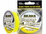 Flätlina Power Action X-4 Yellow 135m