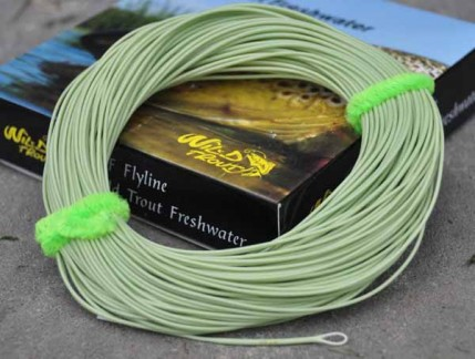 Fluglina WF Floating X-1 Loop Moss Green